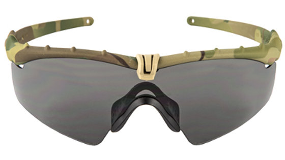 Oakley Standard Issue, Ballistic M-Frame 3.0, Glasses, MultiCam Frame with Grey