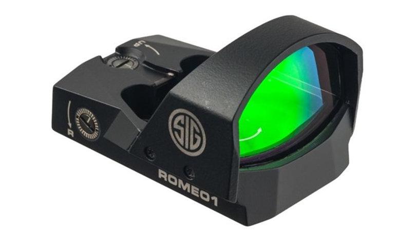 SISOR11600 ROMEO1 1X30 MINI RFLX 6MOA BLK 6MOA REDDOT M1913RAIL BLACK