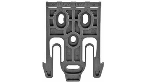 Safariland, Model 6004-19 Quick Locking System Holster Fork, Single Kit Only, Bl