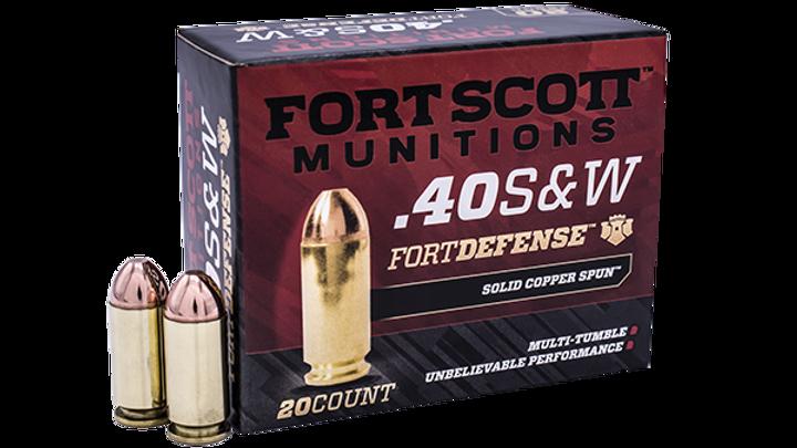 40 S&W TUI™ - 125Gr Handgun Bulk Ammo
