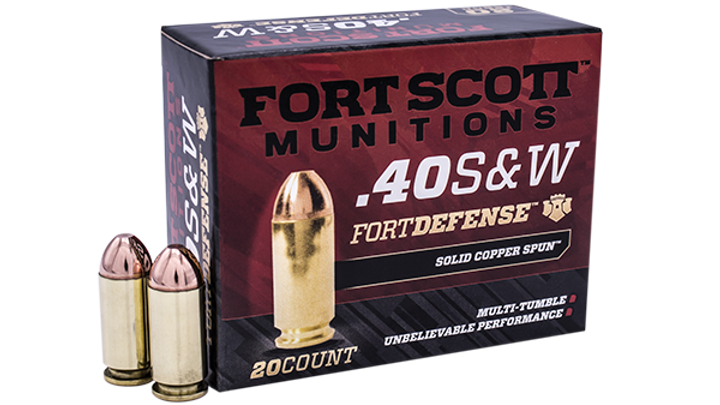 40 S&W TUI™ - 125Gr Handgun Ammo/Bulk Ammo