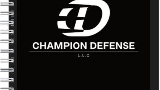Champion Defense Note Pad