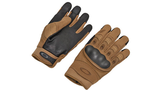 Oakley Standard Issue, Large, Coyote Tan, Factory Pilot 2.0 Glove