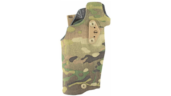 Safariland, 6354DO QLS 19 Fork, Tactical Holster, Right Hand, MultiCam, Fits Glo