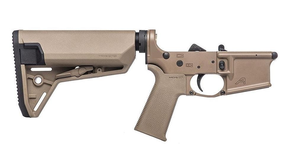 AR15 Complete Lower Receiver w/ MOE SL® Grip & SL-S™ Carbine Stock