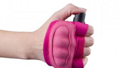 InstaFire Xtreme - Pepper Spray + Knuckle Defense Activewear Hand Sleeve