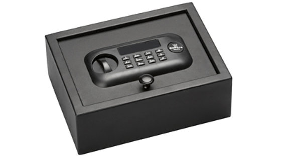 "Bulldog Cases, Pistol Vault, 12""X9""X4"", Digital Lock, Standard Top Open Drawer S"