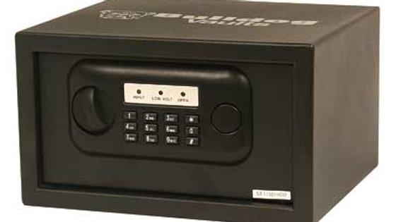 "Bulldog Cases, Pistol Vault, 12""X8""X7"", Digital Lock, Black, Batteries Not Inclu"