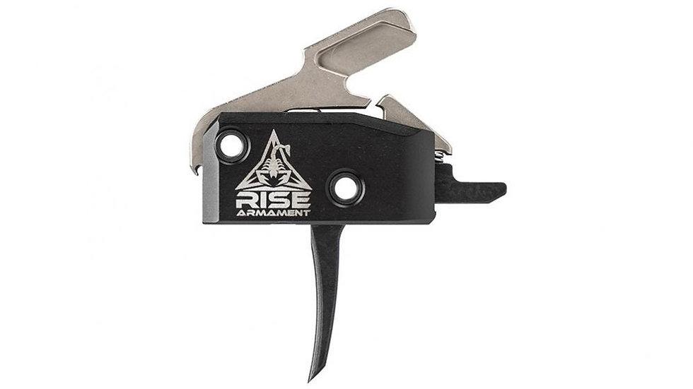 Rise Armament RA-434 High-Performance Trigger - Black Bow w/ Anti-Walk Pins