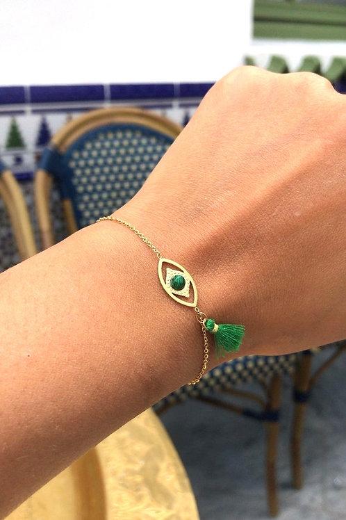 Bracelet casa vert