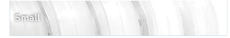 TPU Elastic Cord sizing chart