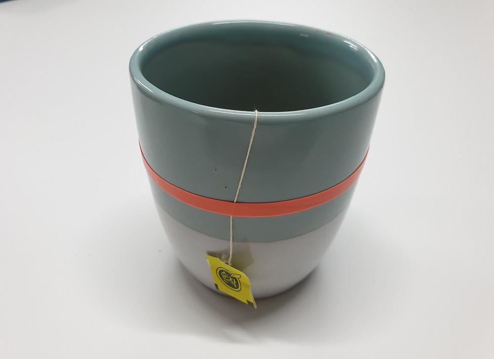 Tea bag hold band