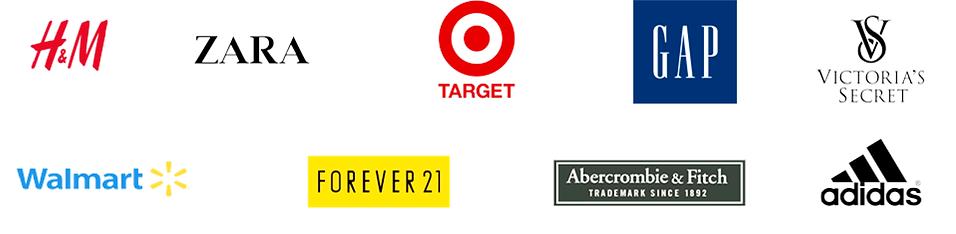 Brands that select JCA