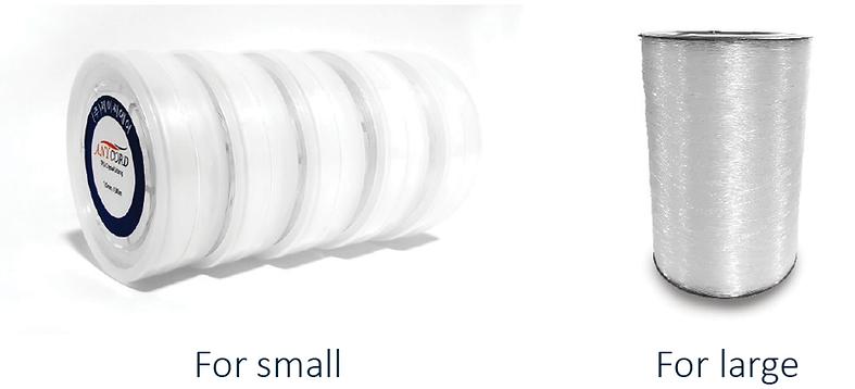 TPU Elastic cord packaging options