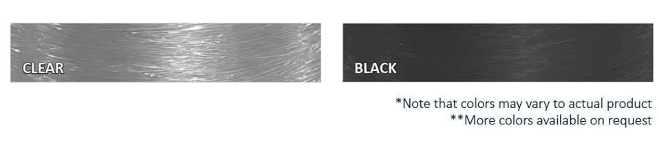 TPU Elastic Cord color options
