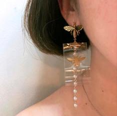TPU Ribbon Earing design