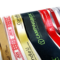 Custom printed ribbon designs