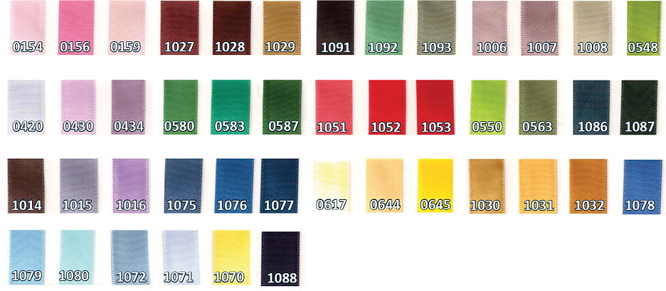 ribbon color option