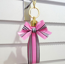 TPU Ribbon Keychain