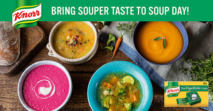 Knorr 'Enrich your soup'