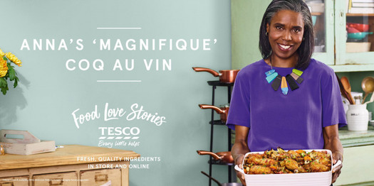 Tesco 'Food Love Stories'