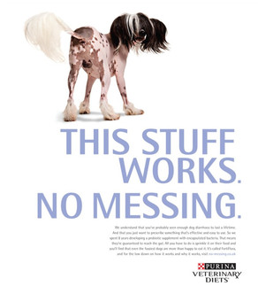 PURINA 'No Messing'