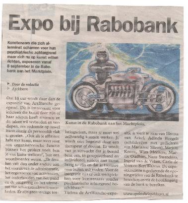 rabobank marktplein 2011 expo art blanche