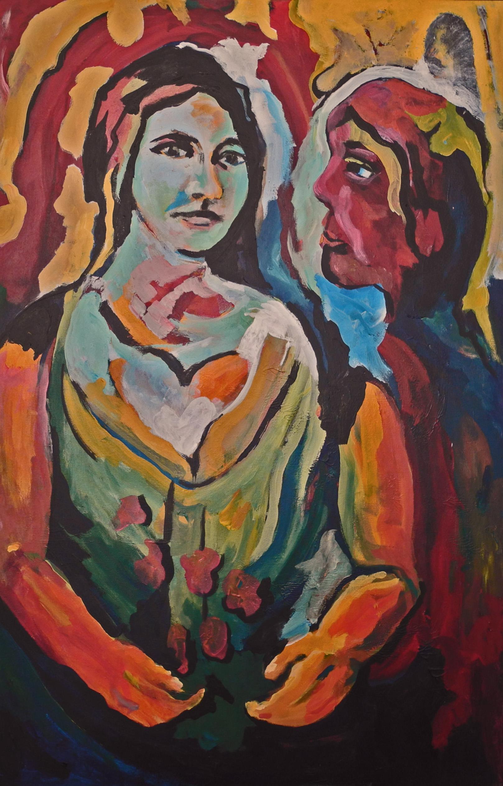 vrouw en man