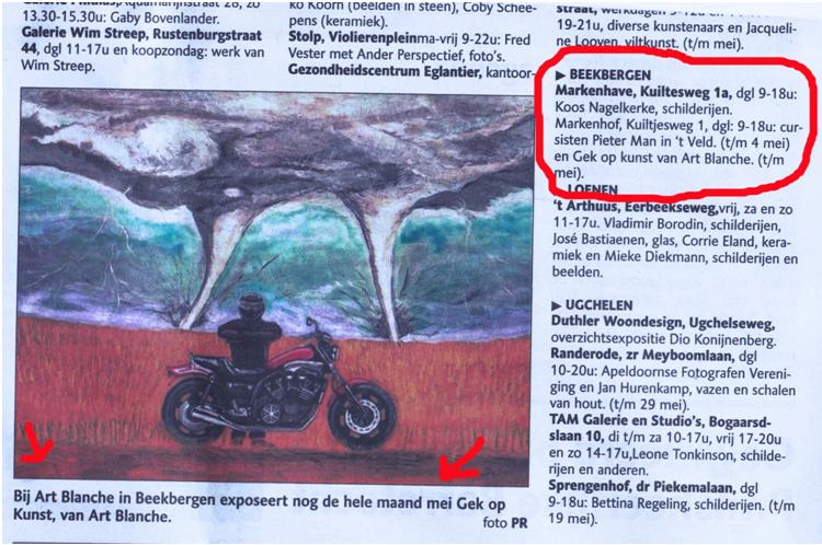 Gek op kunst expositie Art Blanche Condorweg.png