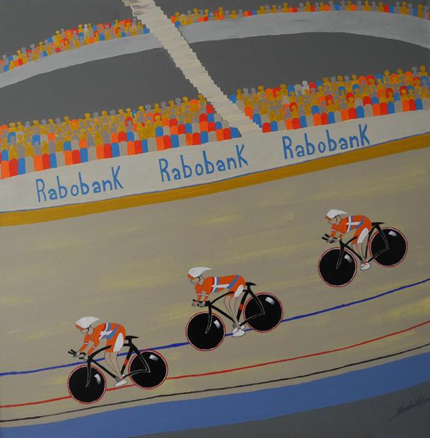 WK-Indoor Wielrennen