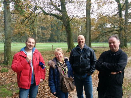 Wandeling in Beekbergen 6 november 2014