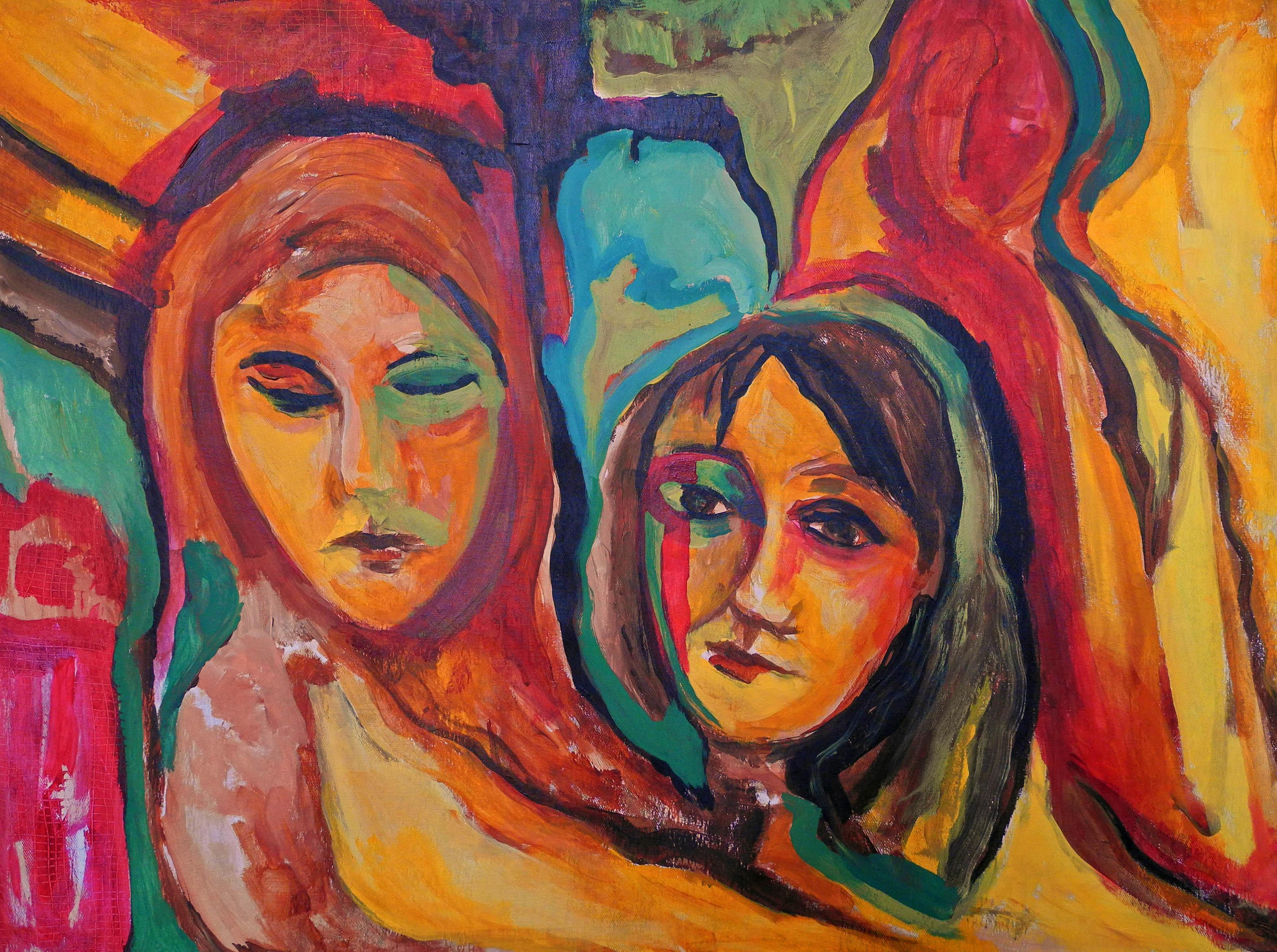 twee vrouwen