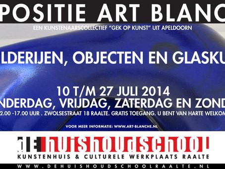 EXPOSITIE Art Blanche RAALTE 10 T/M 27 JULI 2014