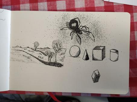 Tekenen en schilderen met inkt