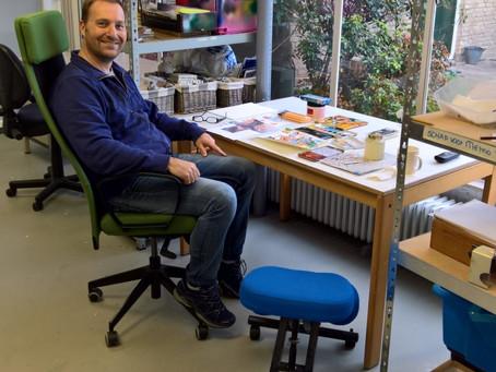 Nieuwe bureaustoelen bij Art Blanche