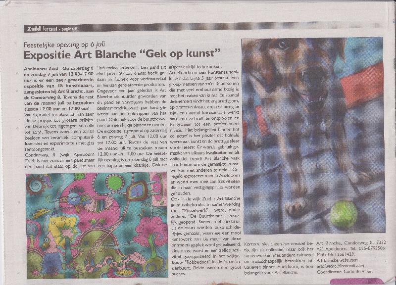 gek op kunst 2013 zuidkrant