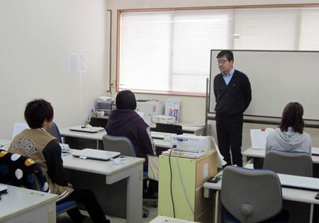 パソコン村 愛野訓練センターでの修了式
