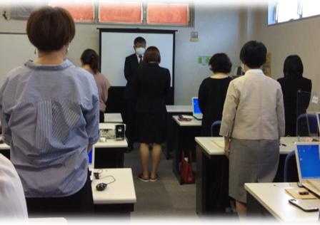 パソコン村 諫早訓練センター 長崎県委託訓練 修了式