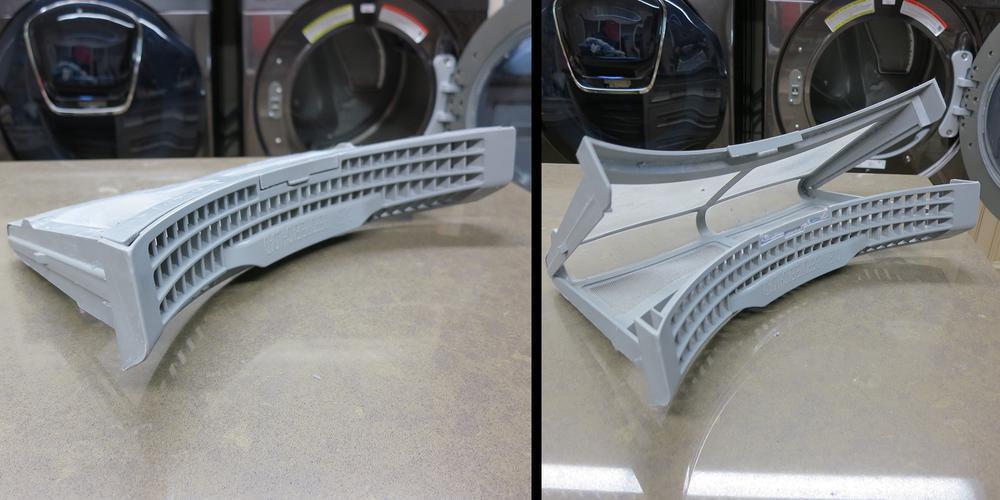 Samsung dryer lint trap