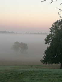 L'hiver et le brouillard