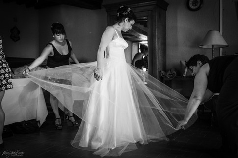 Mariage - Préparatifs de la mariée