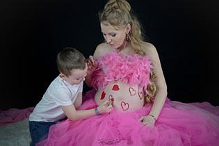 Séance grossesse Rosemarie