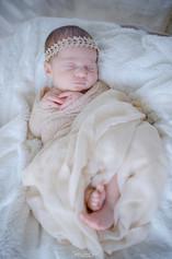 Séance nouveau-né à domicile - Philippine