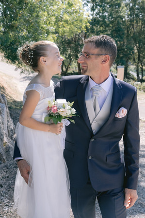 Mariage - séance famille
