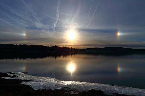 22- Parhélie au lac des Settons