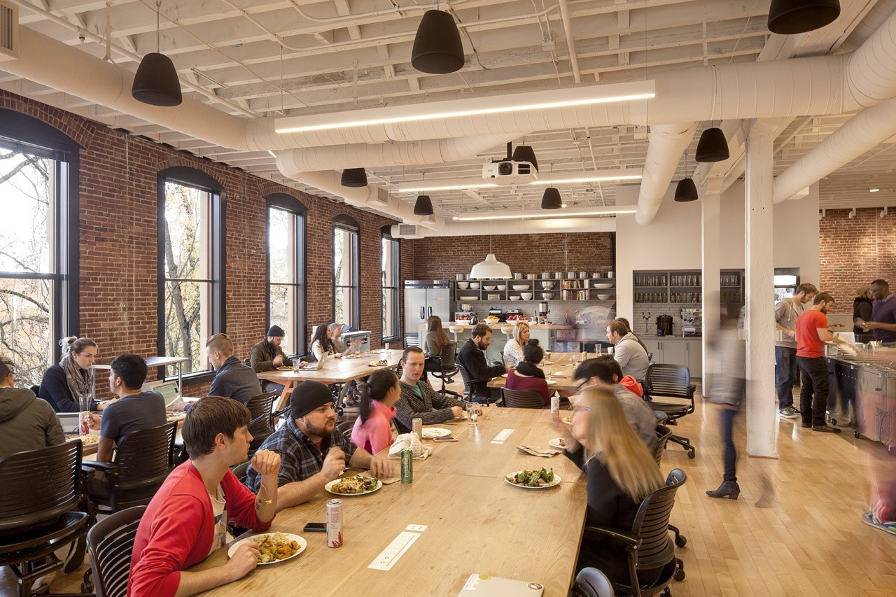 AirBNB Employee Cafe