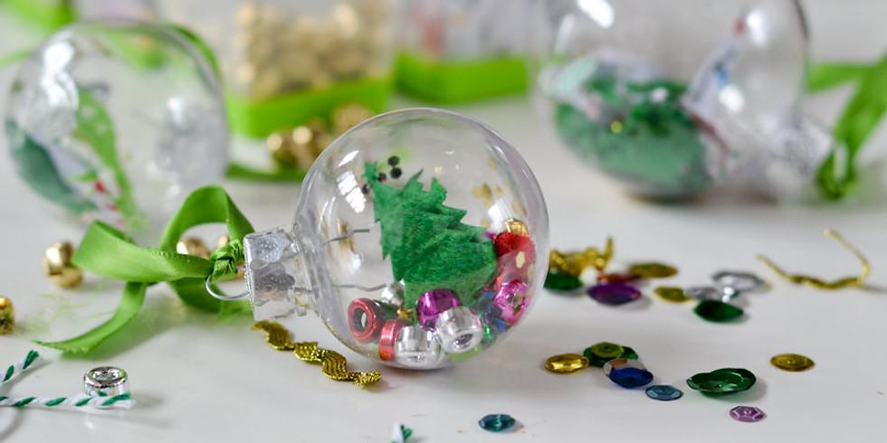 """Holiday Ornament"" KIDS Workshop | 11am, 12pm & 1pm"