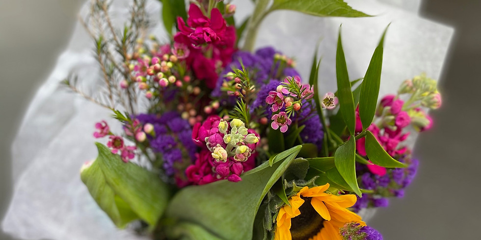 Mother's Day   Bouquet Class