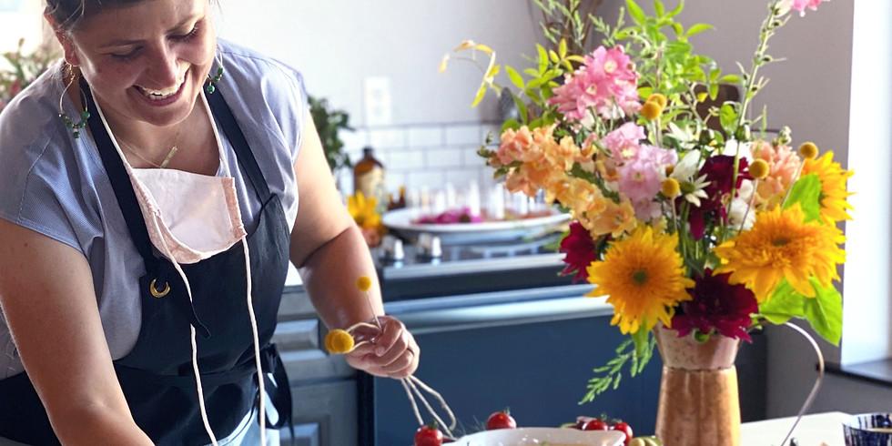 """Morning Dew"" Flower Workshop & Coffee | w/ Bekki from Blossoms & Brambles (2)"