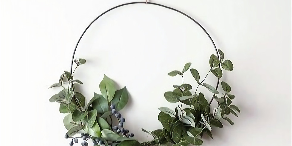 """Simple Wreath"" Workshop | 11am & 1pm"